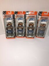 Lot Of 4 2017 Matchbox Camo 5-Pack 1968 Toyota Land Crsr/Ford F-150 SVT Raptor