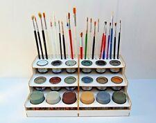Paint Bottle Rack Modular Organizer for Humbrol-Revell-Pactra Paint 18 Pots