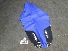 Yamaha YZF450 2010-2013 Nuevo Enjoy MFG Azul/Negro Agarre Funda De Asiento YZ2452
