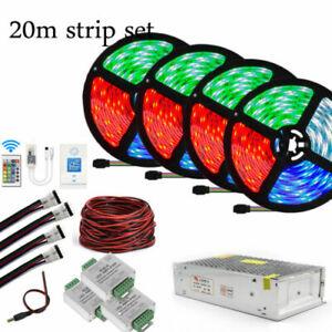 10M 20M 5050 WIFI RGB/RGBW/RGBWW LED Strip Works With Alexa Google Home IFFFT