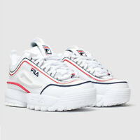Fila Disruptor 2 Contrast Piping Trainer - White
