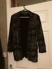 Women's Diesel Black/Brown Jacket Size M