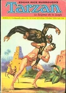 TARZAN LE SIGNEUR DE LA JUNGLE #18 1973-BURROUGHS-FRENCH-HOGARTH ART FINE