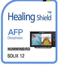 For HUMMINBIRD SOLIX 12 ,  Oleophobic Screen Protector AFP Clear Film