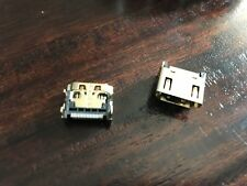 Sony PlayStation 3 PS3 HDMI Port Connector Socket Replacement - Set of 2 READ!