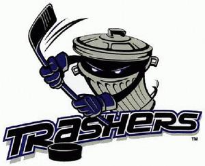 UHL Danbury Trashers Hockey Mens Embroidered Polo S-6X, LT-4XLT New