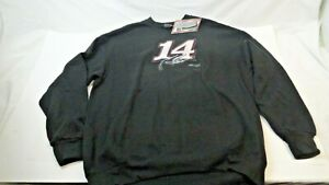 Tony Stewart #14 XL Black Sweatshirt NASCAR Racing Stewart-Hass Racing