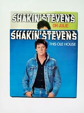 "Shakin Stevens - This Ole House & Oh Julie 2 x 7"" singles EX/EX"