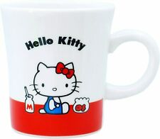 Hello Kitty Red Ribbon Mug Cup '70 White 310110 270ml MADE IN JAPAN