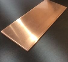 """1/8"""" COPPER SHEET PLATE NEW 2""""x5"""" .125 THICK *CUSTOM 1/8 SIZES AVAILABLE*"""