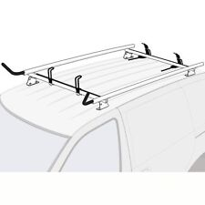 Ford Transit Connect 2014-on SILVER 2x Ladder Holder Aluminum Roof Rack System