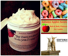 GOAT MILK, SHEA BUTTER & HONEY BODY CREAM, LOTION - FRUIT LOOP SCENT