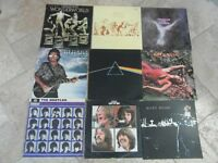 JOBLOT OF ROCK VINYL LP's, PINK FLOYD,THE BEATLES,JOHN LENNON etc 40 ALBUMS