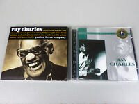 (Lot of 2) Ray Charles CDs: Genius Loves Company ; Members Edition