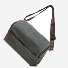 Ona Canvas Rockaway Sling Camera Bag (Smoke) > Lightweight + Functional