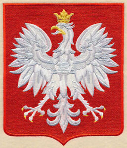 POLISH EAGLE STUNNING VARIETY UNIQUE TOWELS EMBROIDERED BY LAURA