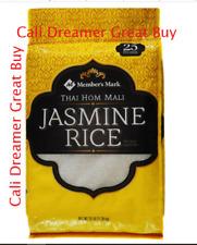 Member's Mark 100% Thai Jasmine Rice (25 lb.) Gluten Free FREE SHIPPING Mali