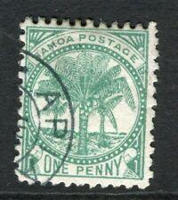 SAMOA; 1886-1900 classic Palm Tree issue fine used 1d. value