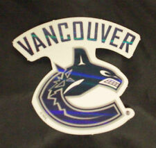 NHL Vancouver Canucks 2007/08-Now Alt. Team Logo Full Color & Shape Sticker #29