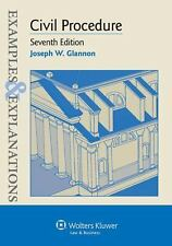 Examples and Explanations: Civil Procedure (sixth ed)