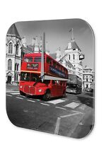 Conception Garage De Horloge murale  rouge double-decker bus Angleterre Signes
