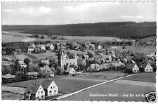 AK, Altenbeken Westf., Teilansicht mit Kirche, 1964