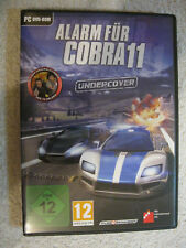 PC DVD Rom Spiel Alarm für Cobra 11: Undercover (PC, 2012, DVD-Box)