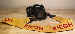 Ricoh KR-10 -35mm Film Camera With XR Rikenon Zoom Lens & Strap Vintage Mint