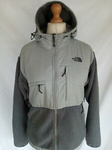 NORTH FACE FLEECE JACKET MENS MEDIUM  POLARTEC ORIGINAL VENTED HOODED