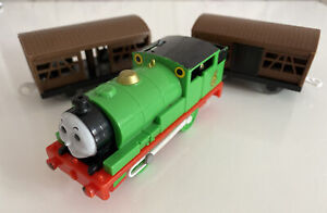 Tomy Trackmaster Thomas The Tank Engine Battery Train Percy And Carriages