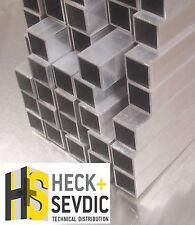 Reststück Alu 500mm Vierkantrohr 50x50x3mm (11,80 €/m) Aluminium Rohr Profil