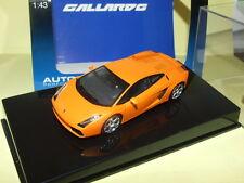 LAMBORGHINI GALLARDO Orange AUTOART