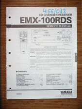 Service Manual Yamaha EMX-100RDS CD Changer Receiver