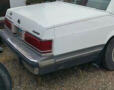 Rear Bumper 1988-91 Mercury Grand Marquis 88 89 1990 1991 Ford Crown Victoria