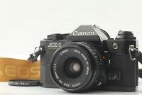 【Near MINT /strap】Canon AE-1 Program Black 35mm SLR New FD 28mm f2.8 JAPAN #B047