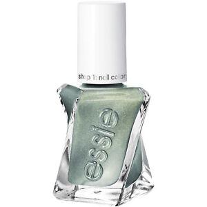 essie gel couture nail polish spellbound green metallic nail polish 0.46 oz