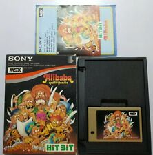 Alibaba And 40 Thieves MSX SONY HIT BIT COMPLETO VERSION EUROPEA