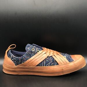 $200 Converse X Missoni CTAS 70 Slip On Leather Knit 157259C US Mens Size 10