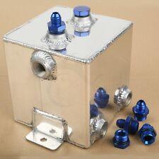 Universal Polishing Aluminium 2 Litre Swirl Pot System Fuel Surge Tank Cell New