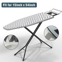 Fresh Designs Cotton Printed Ironing Board Cover Thick Padded Iron Underlay