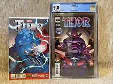 Thor 2 ~1st FULL Appearance Jane Foster NM+ (1st pr 2015) & Thor 2 4th CGC 9.8