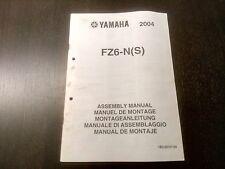 Yamaha FZ6-N(S) FAZER 2004 Assembly Manual Montageanleitung
