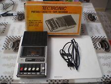 Panasonic RQ-2106 Tectronic CR-022 registratori cassette Vintage per ricambi