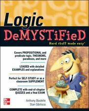 Logic DeMYSTiFied, Gibilisco, Stan, Boutelle, Tony, Good Condition, Book