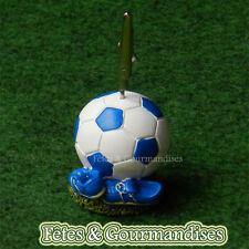 Chaussure de foot et ballon porte photo pour communion, anniversaire, dragees