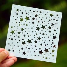 star layering stencils diy scrapbooking album masking painting template tool FT