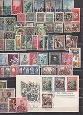 VATICAN CITTA DEL VATICANO LOT 63 TIMBRES/STAMPS + 1 FDC 1930-1970