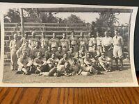 Vintage 1930's Honolulu Hawaii Military Baseball team Photo Captain Woolsey