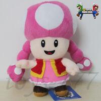 "Super Mario Bros. Toadette 6"" Stuffed Animal Nintendo Game Plush soft Toy Doll"
