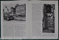 1944 magazine article, THE SOUTH SEAS, WWII happenings, US soldiers etc